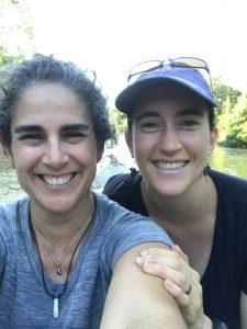 Photo of Suzie Lavallee and Fernanda Tomaselli in Amazon